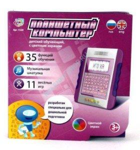 Планшет русско-английский с цветным экраном