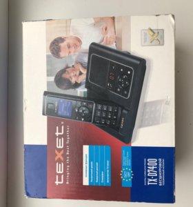 Домашний телефон Texet TX-D7400