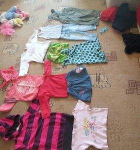 Вещи для детей от 1года до 2