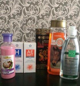 Крем,скраб, шампунь,бальзам, мицелярная вода