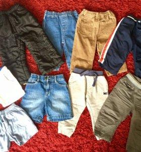 Джинсы, шорты, брюки 6-18мес