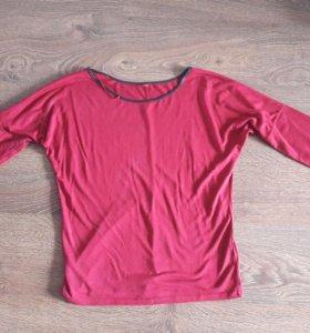 Кофточка,блузка марсала