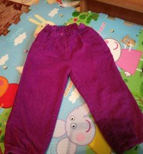 Вельветовые штаны BebuGo