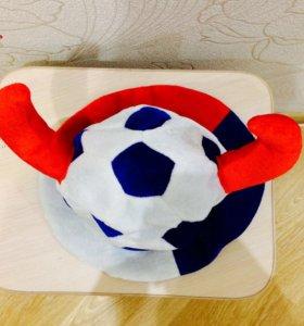 Футбольная шляпа