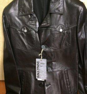 Куртка кожаная мужская. Производство Турции. Новая