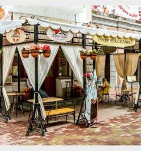 Пошив уличных штор на веранды