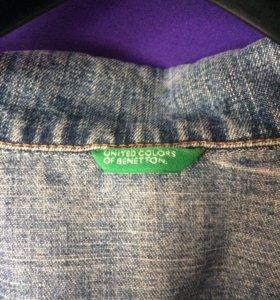 Джинсовая куртка Beneton