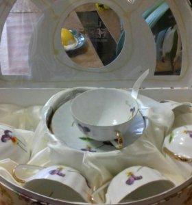 Чайный сервиз (6 чашек, 6 блюдец) в подар. упаковк