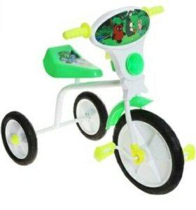 """Велосипед трехколесный """"Малыш"""" 01П, цвет зеленый"""