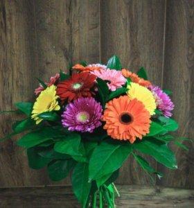 Цветы,букеты,корзины с цветами,веночки на голову.