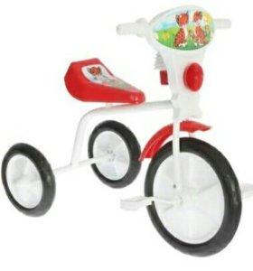 """Велосипед трехколесный """"Малыш"""" 01П, цвет красный"""