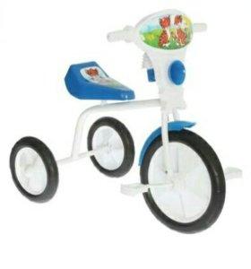 """Велосипед трехколесный """"Малыш"""" 01П, цвет синий"""