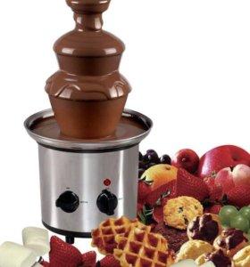 Шоколадный фонтан - фондю
