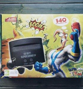 Sega Super Drive Червяк Джим 140 игр в 1
