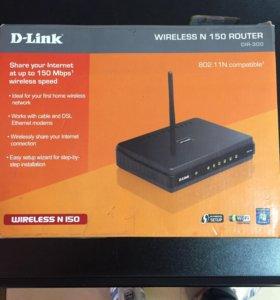 Wifi роутер D-Link wireless N150