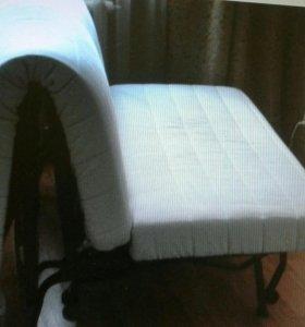 Кресло-кровать Икеа ликселе. левос