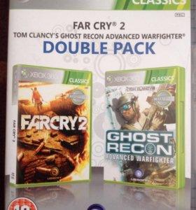 Игры для Xbox 360 ( far cry2/ ghost recon)