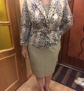 Комплект ( платье+пиджак )
