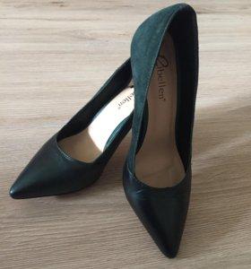 """Продам туфли """"изумрудного"""" цвета"""