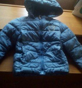 Куртка бенетон р.90