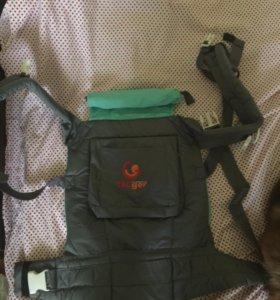 Слинг-рюкзак с капюшоном