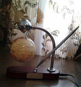 Магнитный глобус (гравитационный)