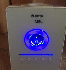 Увлажнитель воздуха + ионизатор VITEK