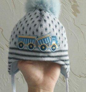 Новая!! Детская шапка +0