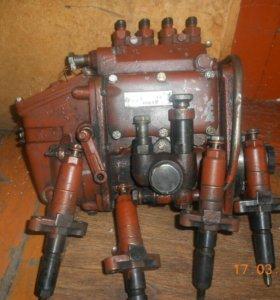 Аппаратура на ЮМЗ с форсунками после ремонта