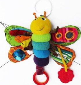 Подвесная Игрушка на коляску муха Lamaze