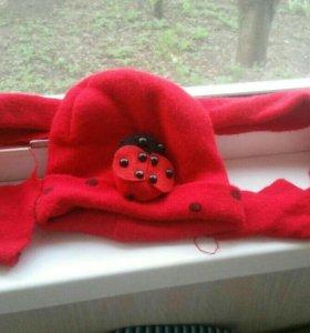 Комплекты шарфик и шапочка