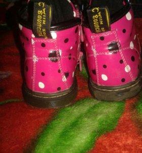 """Ботиночки """"Сказка"""" для девочки."""