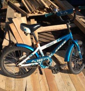 Велосипед для ребёнка 5-6лет