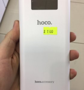 Power Bank Hoco 20000 mAh белый
