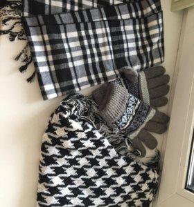 Шарфики и перчатки