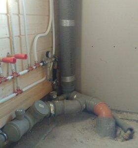 Водоснабжение и канализация.  Водопровод на даче.