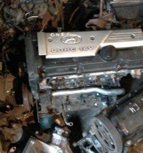 Двигатель хендай акцент 1.5 л G4EC