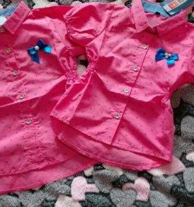 Рубашечки на 1 и 5лет