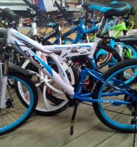 Подросковый двухцветный велосипед