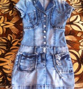 Продаю джинсовое платье новое