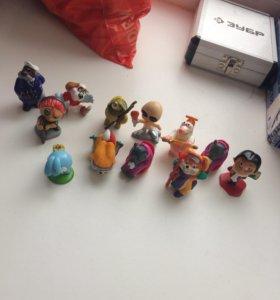 Игрушки из киндера коллекционные серии