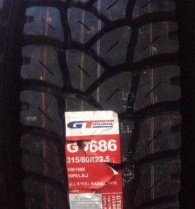 Грузовые шины GTi 315/80/22.5 карьерная