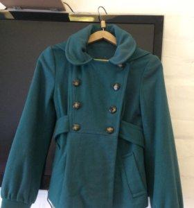 Пальто шерсть Topshop