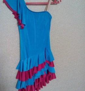 Платье латиноамериканских танцев