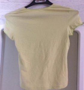 Салатовая футболка