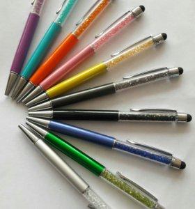 Ручка с кристаллами со стилусом