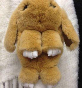 Кролик -Натуральный мех !!