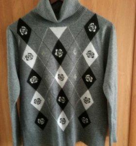 водолазка   и пуловер 48-50