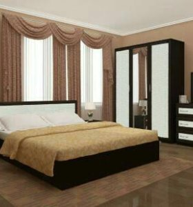 Спальный гарнитур Барселона ЭКОКОЖА  НОВЫЙ