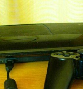 Sony Playstation 3 + PS Move + лицензионные диски
